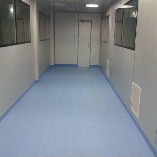 Vinyl Carpet Flooring India: Blue Homogeneous Vinyl Flooring, Rs 80 /square Feet, Hind