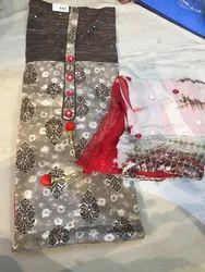Regular Wear Cotton Ladies Suit Material