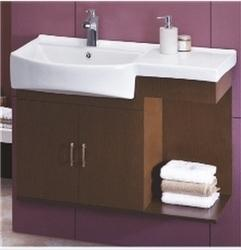 separation shoes e4ab6 dec12 Cera Wooden Vanity Cabinet Wall Hung Wash Basin