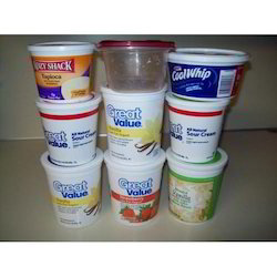 Plastic Bhagwati Printed Food Container, Capacity: 1000 And 1500 ml