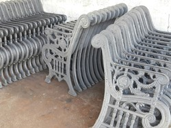 Cast Iron Park Bench Legs