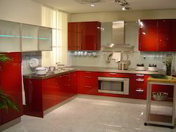 Acrylic Modular Kitchens