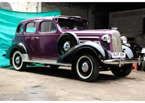 Vintage Car Rental Chevrolet Master 1935 In Fatehpura Udaipur Old