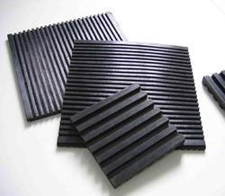 Checkered Rubber Anti Vibration Pads