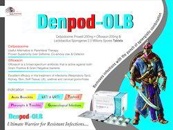 Cefpodoxime, Proxetil, Ofloxcin, Lactobacillus