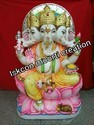 Marble Punchmukhi Ganesh Statues