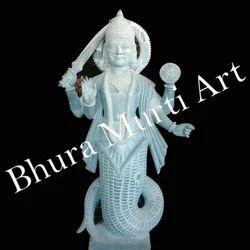 Black Marble Ketu Graha Statue