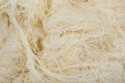 Raw Self White Cotton Waste