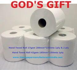 Paper Hand Towel Rolls