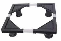Black Adjustable Fridge Stand