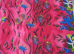 Polyester Fish Printed Pareos