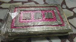 Metal Rectangular Dry Fruit Box, Box Capacity: 1-5 Kg, 1 Peace