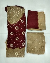Pure Cotton Bandhani Salwar Suit