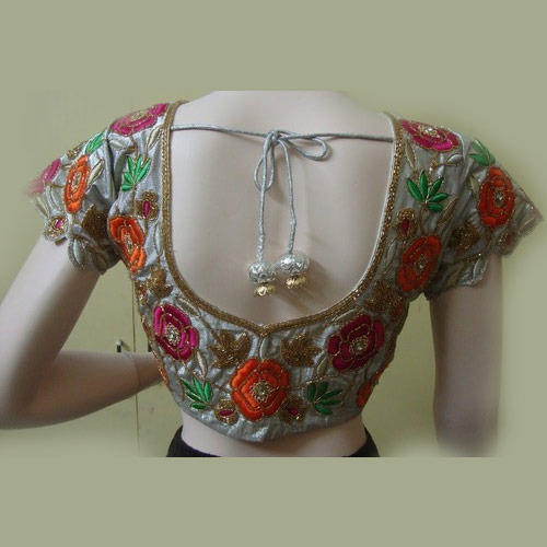 Machine Blouse Embroidery Work Machine Embroidery Work Estee A