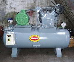 7.5 HP Double Piston Air Compressor Machine