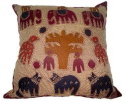 Jogi Patch Figure Cushion Covers