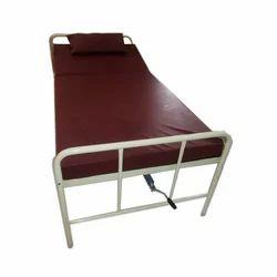 Semi Back Rest Cot With Mattress