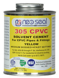 CPVC Solvent Cement for CPVC Pipes and Fittings