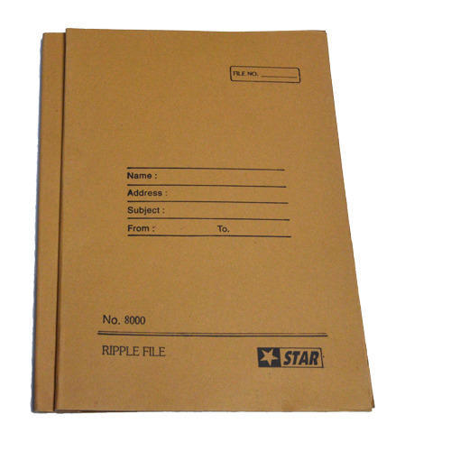 How To Make Covered Files: Office File Cover, File Folder - Star Sales, Delhi