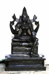 Divine Black Stone Mata Parvathi Devi
