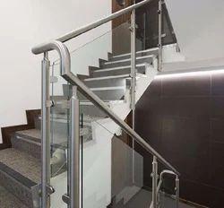 SS Glass Handrail