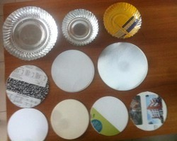 Cirlce Cutting Paper Plates Raw Materials