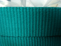 Green Narrow Woven Fabric