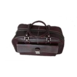 Brown Leather Corporate Office Bags, Capacity: 21 Ltr