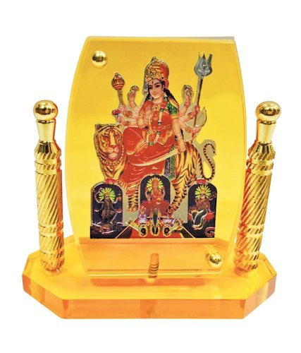 Hindu God Idol Mata Temple Frame For Car Dashboard Astroyou