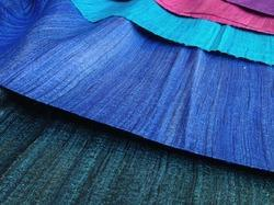 Plain Tussar Silk