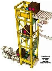 Vertical Conveyor, Capacity: Up to 2 ton