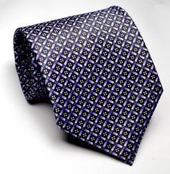 Wintex Blue Printed Neck Ties