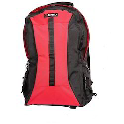 Black & Red Backpack Jumbo Bag
