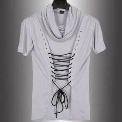 Men's T-Shirt - Men's V-Neck T-Shirt Manufacturer from Tiruppur