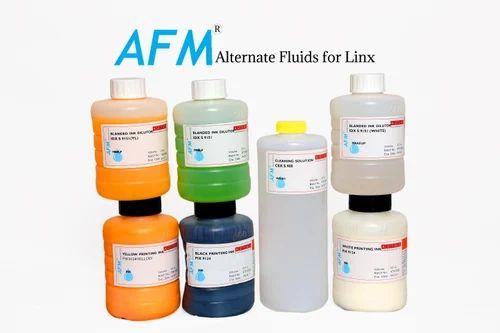 Linx Alternate Printer Fluids, Packaging Type: Plastic Bottle