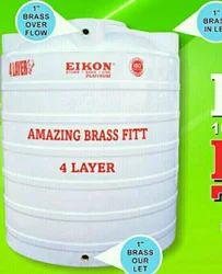 Sintex Plastic White Tank, Capacity: 5000-10000 L