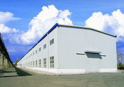 Industrial Fabricated Roofing and Cladding Building