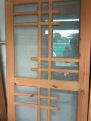 Cool Wooden Doors With Net Contemporary - Exterior ideas 3D - gaml . : net doors - Pezcame.Com