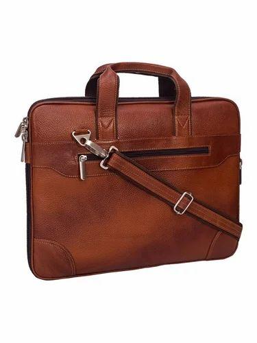 5582acad1cc5 Leather Laptop Bag at Rs 2800  unit(s)