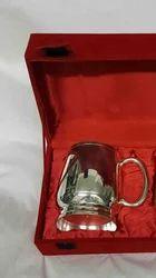 Silver Plated Mug 16 & 18 Oz