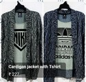 Mens Fancy T Shirt With Jacket