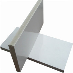 White PVC Cabinet Board, Size: 4 Ft By 8 Ft