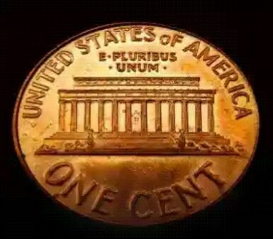Old Rare Bronze Coin Of U s a Of Liberty 1975 Of One Cent
