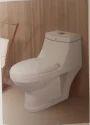 Round One Piece Toilet