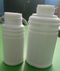 White Pesticide Bottle