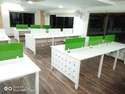 Open Type Glass Modular Office Furniture Workstations Coworking Space