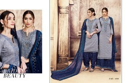 Color Patiala Volume -9 Kessi Fabric