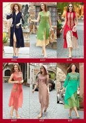 Cotton Casual Wear Ladies Designer Kurtis, Machine wash