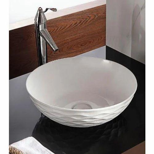 Bowl Shape Art Wash Basin