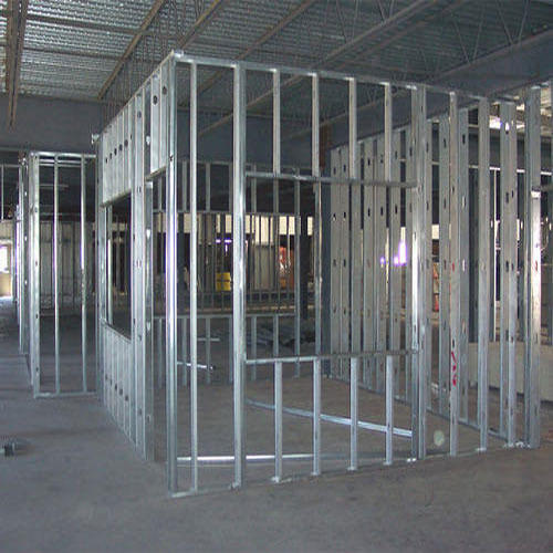 Gypsum Partition At Rs 68 Square Feet S जिप्सम